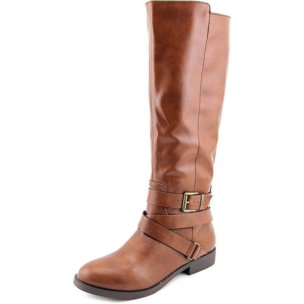Style & Co Lolah Women Round Toe Synthetic Brown Knee High Boot