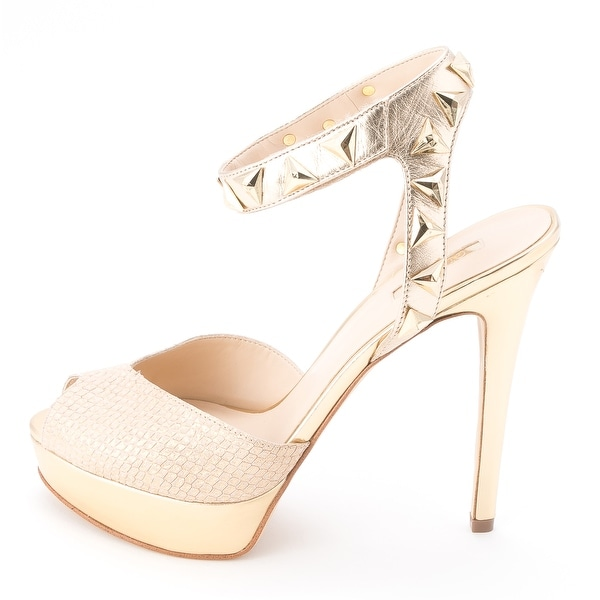 GUESS Womens KAYDEE Leather Open Toe Special Occasion