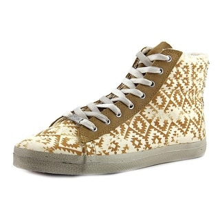 Kim & Zozi Gypster Women Round Toe Canvas Tan Sneakers