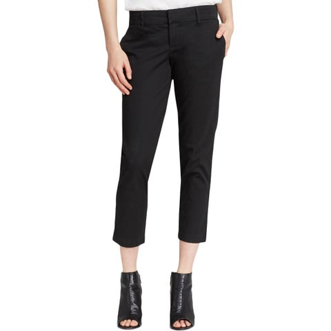 Kut From The Kloth Womens Gwen Ankle Pants Twill Khaki