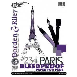 "Borden & Riley - #234 Paris Bleedproof Paper for Pen Pad - 11"" x 14"" https://ak1.ostkcdn.com/images/products/is/images/direct/891e7944e9034e33599c5afc8fa31e4c293639df/Borden-%26-Riley---%23234-Paris-Bleedproof-Paper-for-Pen-Pad---11%22-x-14%22.jpg?impolicy=medium"