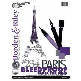 "Borden & Riley - #234 Paris Bleedproof Paper for Pen Pad - 11"" x 14"""