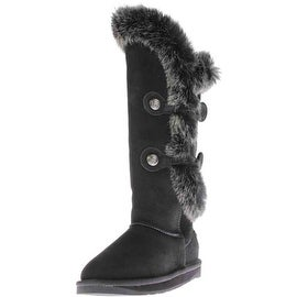 Australia Luxe Womens Nordic Angel X Tall Sheepskin Knee-High Boots