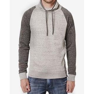 Buffalo David Bitton NEW Gray Charlie Mens Size XL Funnel-Neck Sweater
