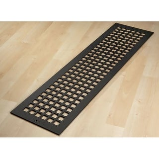 "Reggio Registers G832-SNH Grid Series 30"" x 6"" Floor Grille without Mounting Hol"
