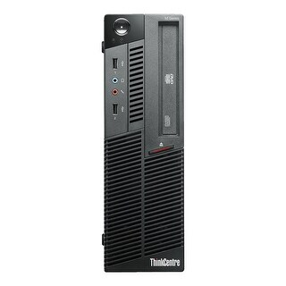 Lenovo ThinkCentre M90P Desktop Computer SFF Intel Core I5 650 3.2G 4GB DDR3 1TB Windows 10 Pro 1 Year Warranty (Refurbished)