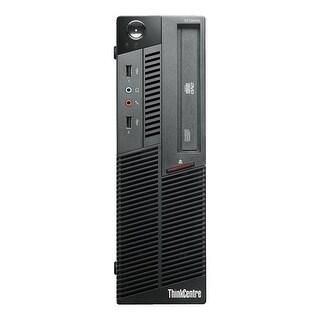 Lenovo ThinkCentre M90P Desktop Computer SFF Intel Core I5 660 3.33G 4GB DDR3 1TB Windows 10 Pro 1 Year Warranty (Refurbished)
