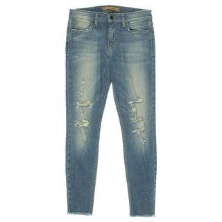 Joe's Womens Destoryed Mid-Rise Ankle Jeans - 26
