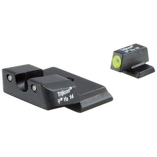 Trijicon HD Night Sights Smith & Wesson M&P Shield Yellow Front Outline