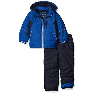 London Fog Boys 4-7 Snow Pant Jacket Snowsuit - Orange