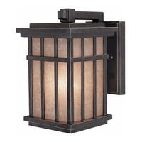 Dolan Designs 9140 Craftsman / Mission 1-Light Outdoor Wall Sconce from the Freeport Collection - winchester - n/a