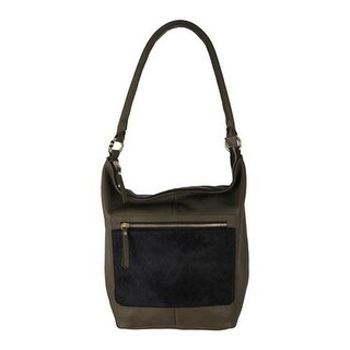 Latico Women's London 6266 Black/Olive Leather - US Women's One Size (Size None)