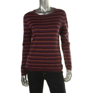 Tommy Hilfiger Womens Houndstooth Crew Pullover Sweater - XL