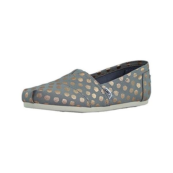 c2403bae818 Shop Toms Womens Classic Slip-On Shoes Polka Dots Fashion - 7.5 medium (b