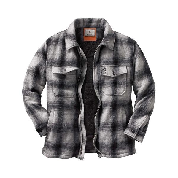 Legendary Whitetails Men's Buffalo Plaid Outdoorsman Jacket