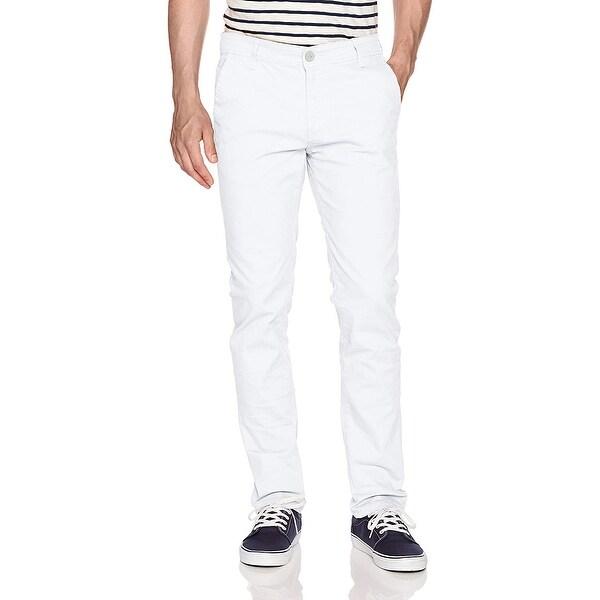 Wt02 Men/'S Long Basic Stretch Skinny Chino Pant