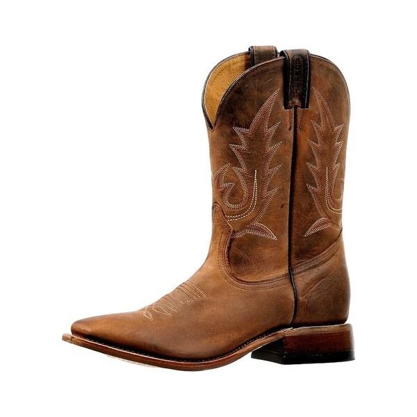 Boulet Western Boots Mens Challenger RealFlex Virginia Mesquite