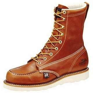Thorogood Work Boots Mens Moc ST Wedges Storm Welt Tobacco 804-4208