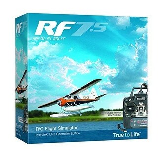 Great Planes RealFlight 7.5 RC PLANES with Interlink Elite Mode 2