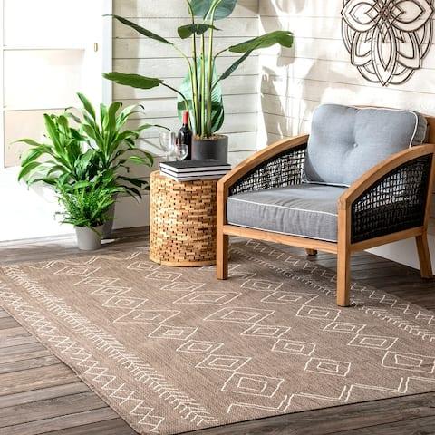 nuLOOM Serna Indoor/Outdoor Area Rug