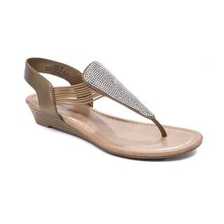 Andrew Geller Larsa Women's Sandals & Flip Flops Bronze