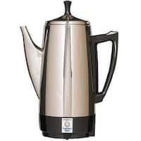 Presto 02811 Coffeemaker, 12 Cup, Stainless Steel, 800 Watts