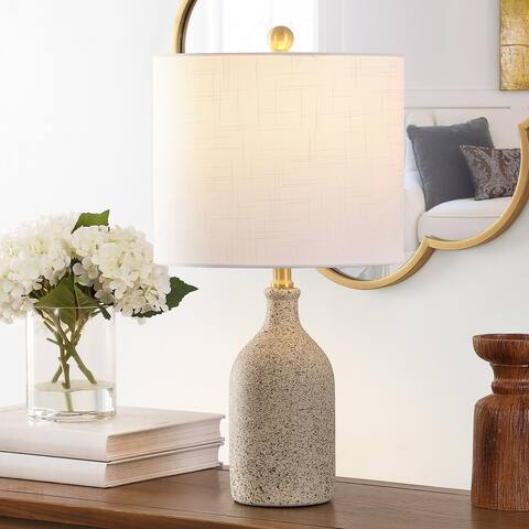 "SAFAVIEH Lighting 23-inch Gunnar Ceramic Table Lamp - 12"" x 12"" x 23"""