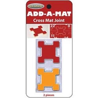 Add-A-Mat Cutting Mat Cross Joint 2/Pkg-