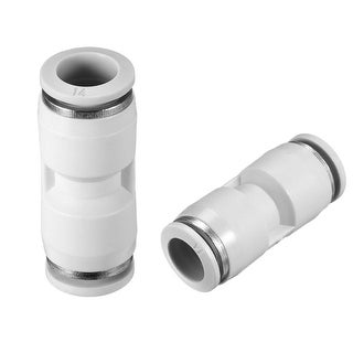Push to Connect Fittings  14mm or 35/64¡± Straight od Tube Fittings White