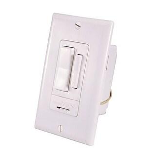 Heath Zenith WC-6017-WH Wireless Command Indoor Lighting RF Wall Switch, White