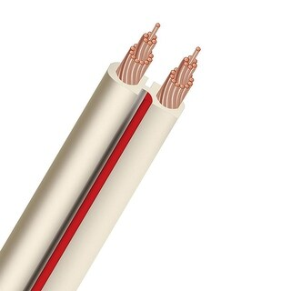 AudioQuest X2 Unterminated Speaker Cable (White) - 50 Feet