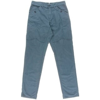 Eidos Napoli Mens Flat Front Solid Cargo Pants - 32