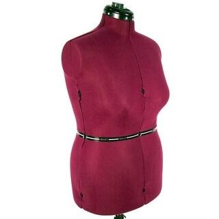 Family RT-L Adjustable Mannequin Dress Form, Large