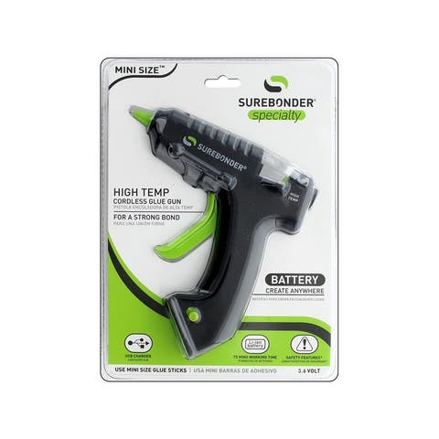 Usb-195f surebonder glue gun mini high temp usb charged