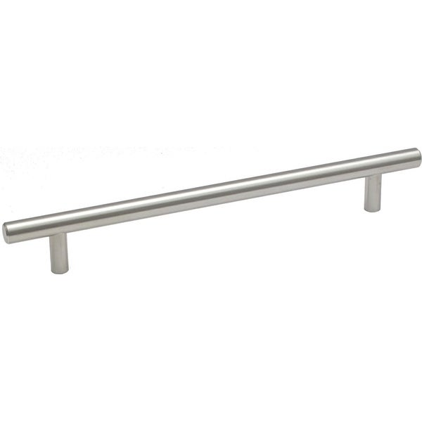 Jamison Collection P120 17 Inch Center to Center Bar Cabinet Pull - satin nickel