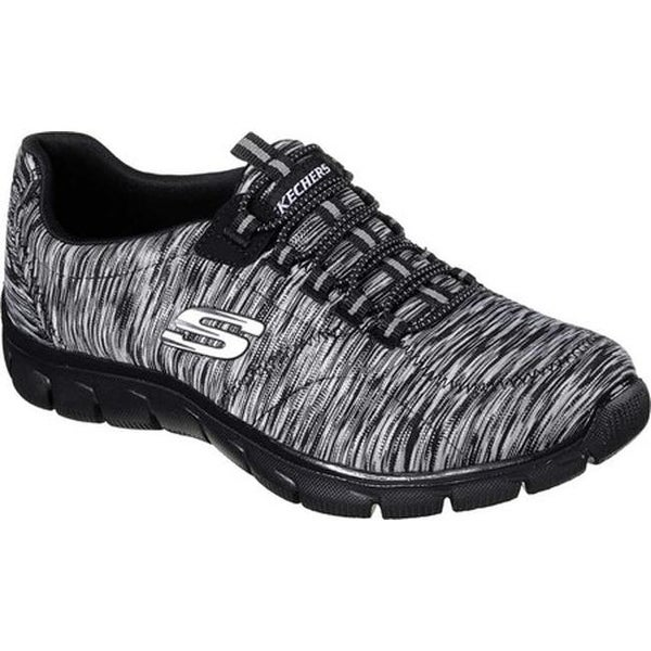 0b21f52b1410 Skechers Women  x27 s Relaxed Fit Empire Game On Walking Shoe Black Charcoal