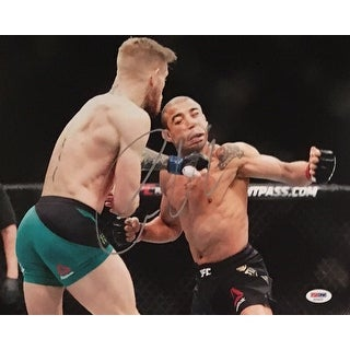 Conor McGregor Autographed UFC Signed MMA 11x14 Photo PSA DNA COA 3