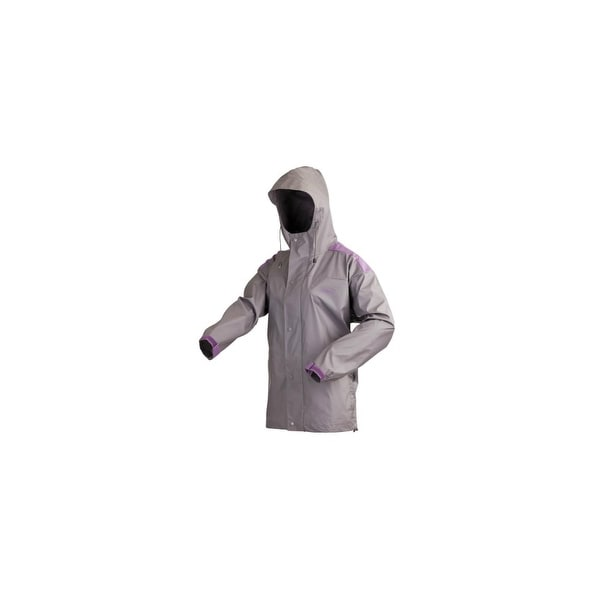 Coleman Womens PVC Nylon Jacket - S PVC - Nylon Jacket