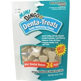 Dingo Mini White Treat