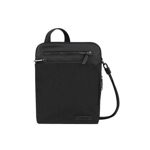 Travelon Women's Black Adjustable Strap Crossbody Handbag Purse