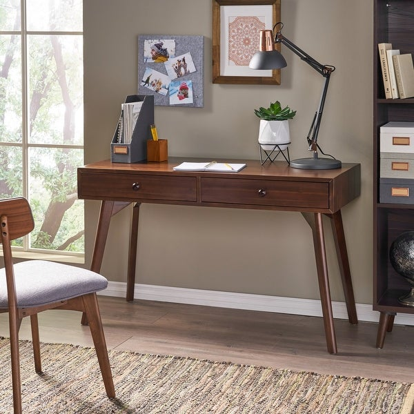 Julio Acacia Wood Desk by Christopher Knight Home. Opens flyout.