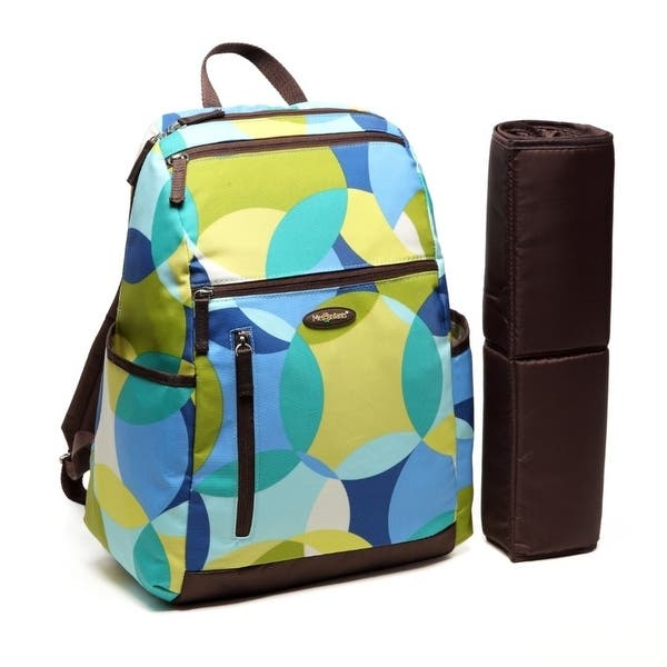 835f847089748 Amazing Mom Colorland Alexis Multi-Compartments Baby Bag by Mia K Farrow