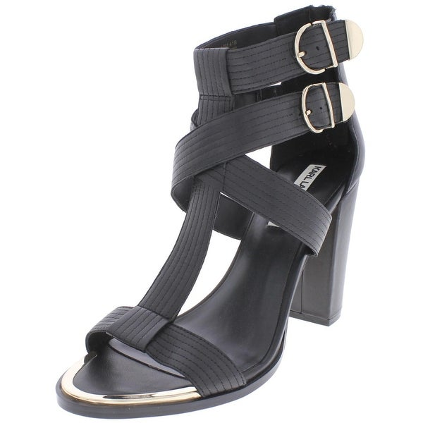 Karl Lagerfeld Paris Womens Laveda Dress Sandals Open Toe Pumps