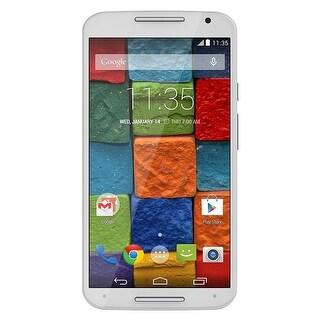 Motorola MOTO X XT1097 AT&T Unlocked GSM 4G LTE Quad-Core Phone w/ 13MP Camera - White Bamboo