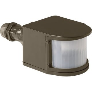 Progress Lighting P6345 Security LED Motion Sensor with Tempered Glass Shade