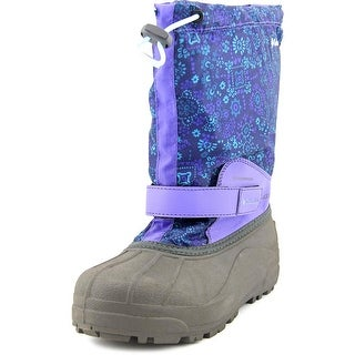 Columbia Powderbug Forty Print Round Toe Canvas Winter Boot
