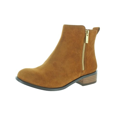 Jessica Simpson Womens Kesaria Ankle Boots Suede Almond Toe