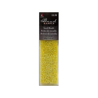 Cousin Bead Seed 11/0 40g Yellow