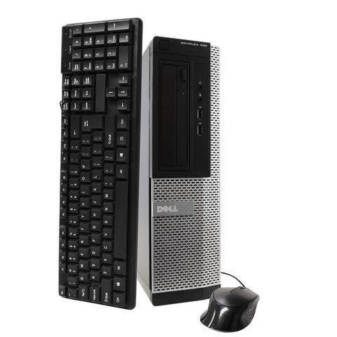 Dell OP390 Intel i3 4GB 250GB HDD Windows 10 Home WiFi Desktop PC