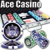 300 Ct - Custom Breakout - Ace Casino 14 Gram - Aluminum